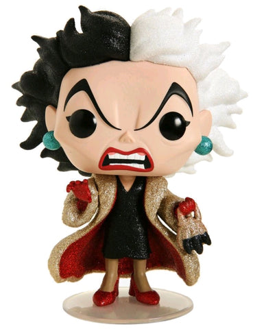 POP! DISNEY: 101 DALMATIONS: CRUELLA DE VILLE (DIAMOND GLITTER)