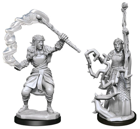DUNGEONS & DRAGONS NOLZUR'S MARVELOUS UNPAINTED MINI: FIRBOLG DRUID (FEMALE)