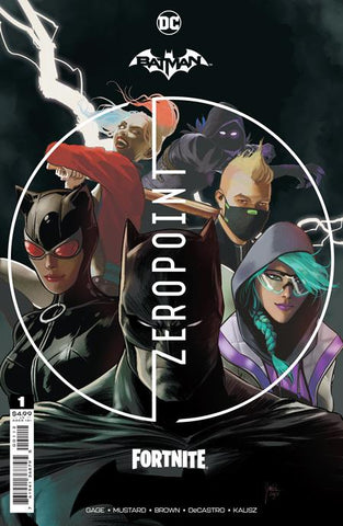 BATMAN FORTNITE ZERO POINT #1 Second Printing