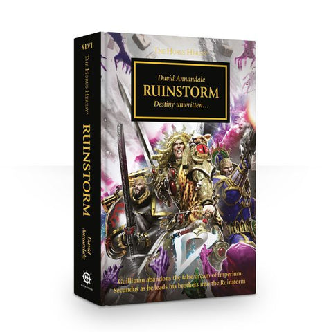 HORUS HERESY RUINSTORM BY DAVID ANNANDALE