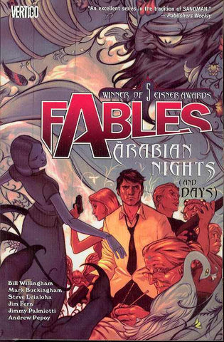 FABLES VOLUME 07 ARABIAN NIGHTS (AND DAYS)