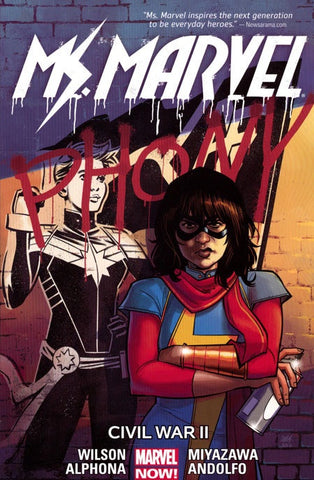 MS MARVEL VOLUME 06 CIVIL WAR II