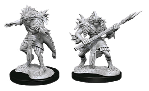 DUNGEONS & DRAGONS NOLZUR'S MARVELOUS UNPAINTED MINI: SAHUAGIN