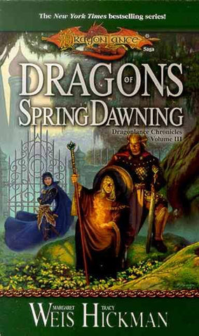 DRAGONLANCE DRAGONS OF SPRING DAWNING BY M WEIS & T HICKMAN