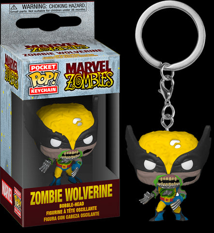 POCKET POP! MARVEL: MARVEL ZOMBIES: WOLVERINE KEYCHAIN
