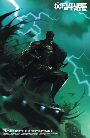 FUTURE STATE THE NEXT BATMAN #2 (OF 4) CVR B FRANCESCO MATTINA CARD STOCK VARIANT
