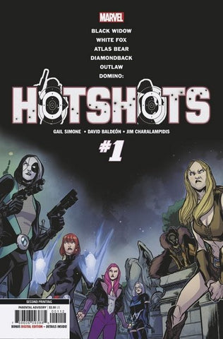 DOMINO HOTSHOTS COMIC PACK
