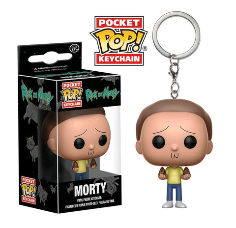 POCKET POP! ANIMATION: RICK & MORTY: MORTY KEYCHAIN