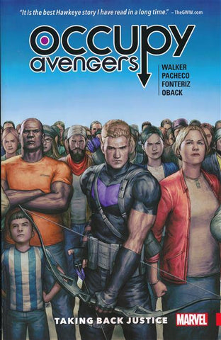 OCCUPY AVENGERS VOLUME 01 TAKING BACK JUSTICE