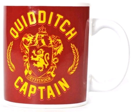 HARRY POTTER QUIDDITCH CAPTAIN MUG