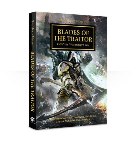 HORUS HERESY BLADES OF THE TRAITOR HC