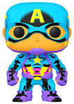 POP! MARVEL: CAPTAIN AMERICA BLACKLIGHT