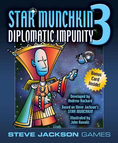 STAR MUNCHKIN 3 DIPLOMATIC IMPUNITY EXPANSION