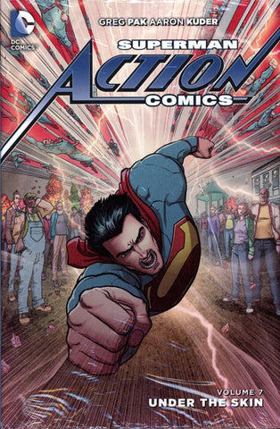 SUPERMAN ACTION COMICS VOLUME 07 UNDER THE SUN HC
