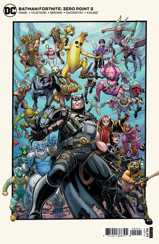 BATMAN FORTNITE ZERO POINT #2 (OF 6) CVR B ART ADAMS CARD STOCK