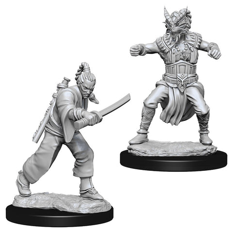 DUNGEONS & DRAGONS NOLZUR'S MARVELOUS UNPAINTED MINI: HUMAN MONK (MALE)