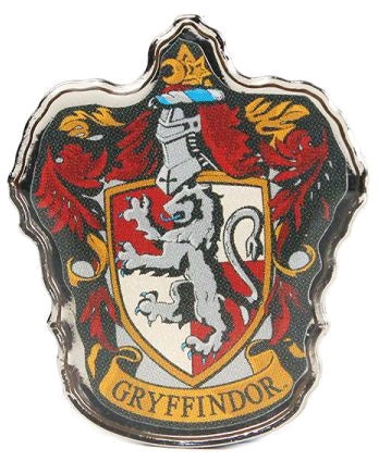 HARRY POTTER GRYFFINDOR ENAMEL BADGE