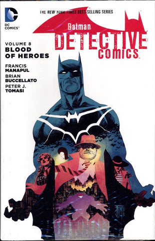 BATMAN DETECTIVE COMICS VOLUME 08 BLOOD OF HEROES HC