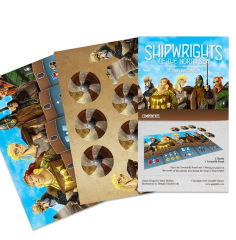 SHIPWRIGHTS OF THE NORTH SEA THE TOWNSFOLK EXPANSION