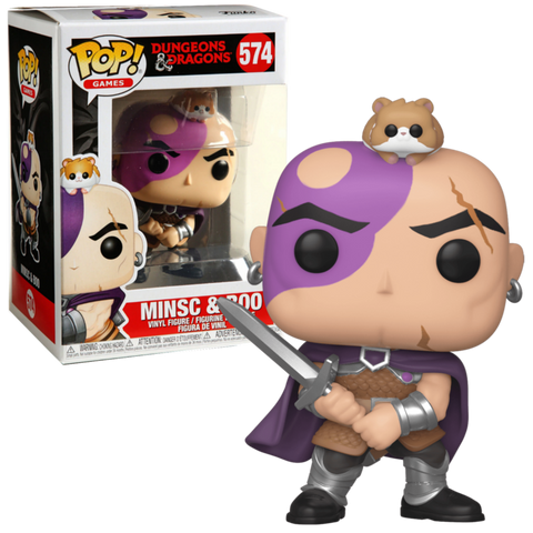 POP! GAMES: DUNGEONS & DRAGONS: MINSC & BOO