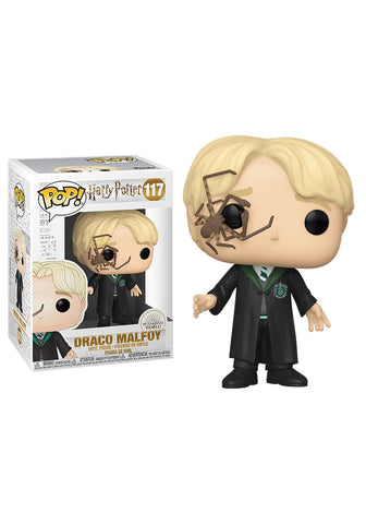 POP! MOVIES: HARRY POTTER: DRACO MALFOY WITH WHIP SPIDER