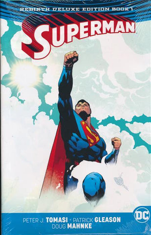 SUPERMAN REBIRTH DELUXE COLLECTION HC BOOK 01