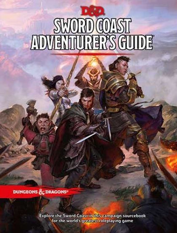D&D SWORD COAST ADVENTURER'S GUIDE HC