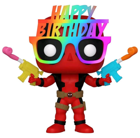 POP! MARVEL: DEADPOOL BIRTHDAY GLASSES