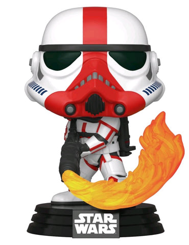 POP! STAR WARS MANDALORIAN: INCINERATOR STORMTROOPER