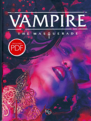 VAMPIRE THE MASQUERADE CORE RULEBOOK
