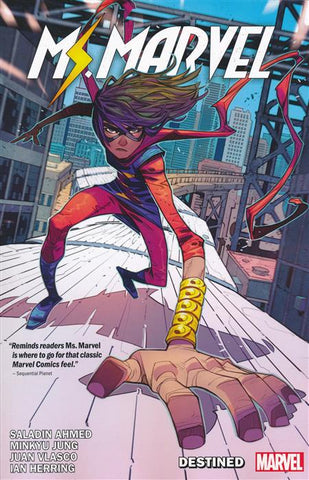 MS MARVEL BY SALADIN AHMED VOLUME 01