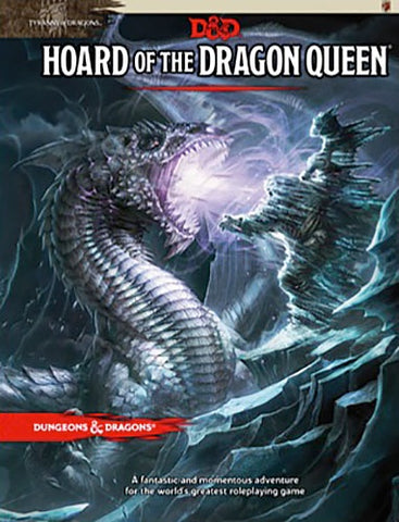 DUNGEONS & DRAGONS HOARD OF THE DRAGON QUEEN HC