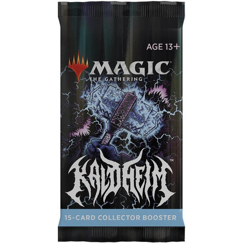 MAGIC THE GATHERING KALDHEIM COLLECTOR BOOSTER