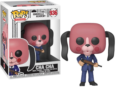 POP! TELEVISION: UMBRELLA ACADEMY: CHACHA WITH MASK