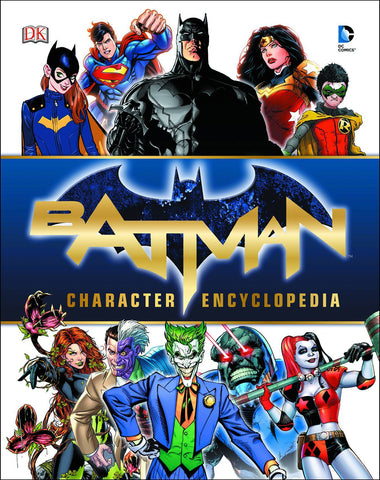 BATMAN CHARACTER ENCYCLOPEDIA HC