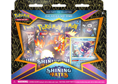 POKEMON SHINING FATES GALARIAN MR RIME COLLECTION BOX