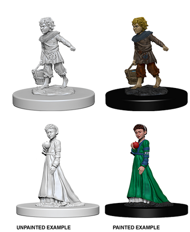 PATHFINDER BATTLES DEEP CUTS UNPAINTED MINI: CHILDREN