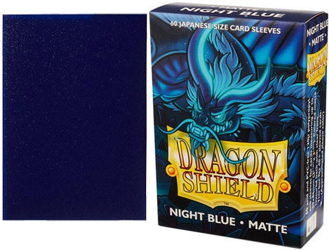 DRAGON SHIELD SMALL SLEEVES - NIGHT BLUE