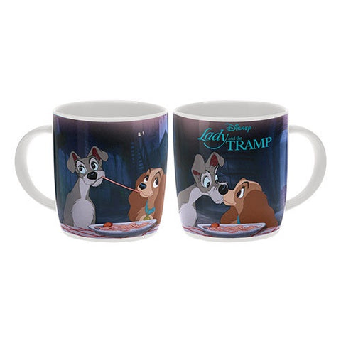 DISNEY LADY AND THE TRAMP COFFEE MUG