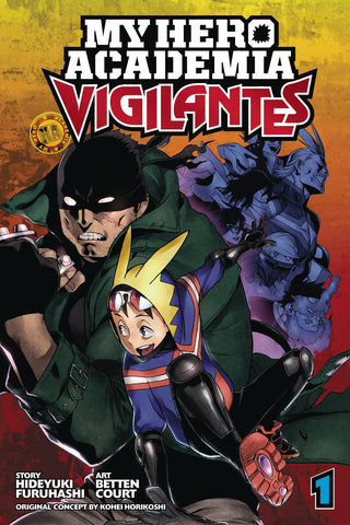MY HERO ACADEMIA VIGILANTES VOLUME 01