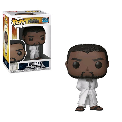 POP! MOVIES: BLACK PANTHER: T'CHALLA WHITE ROBE