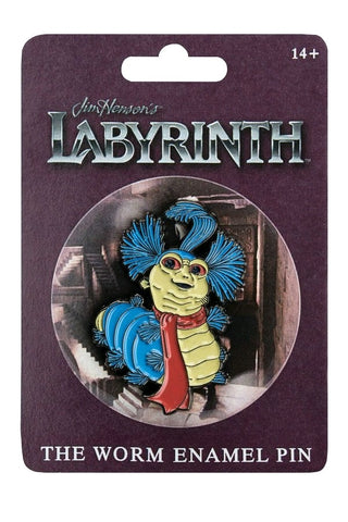 LABYRINTH - THE WORM ENAMEL PIN