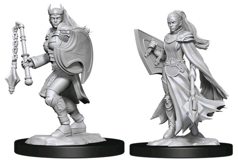 DUNGEONS & DRAGONS NOLZUR'S MARVELOUS UNPAINTED MINI: KALASHTAR CLERIC (FEMALE)