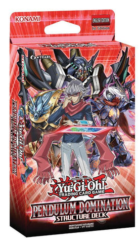 YUGIOH PENDULUM DOMINATION STRUCTURE DECK