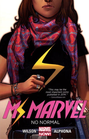 MS MARVEL VOLUME 01 NO NORMAL