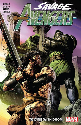 SAVAGE AVENGERS VOLUME 02 TO DINE WITH DOOM