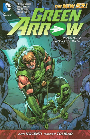 GREEN ARROW VOLUME 02 TRIPLE THREAT