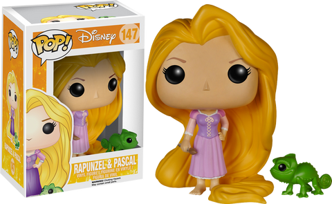 POP! DISNEY: TANGLED: RAPUNZEL AND PASCAL
