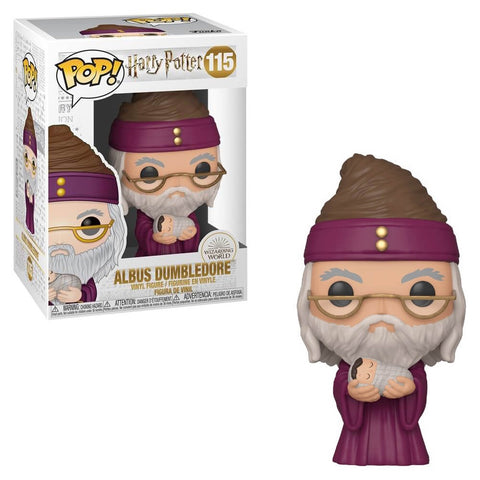 POP! MOVIES: HARRY POTTER: ALBUS DUMBLEDORE WITH BABY HARRY
