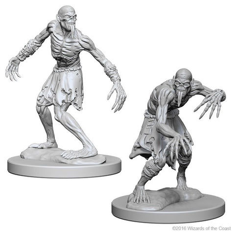 DUNGEONS & DRAGONS NOLZUR'S MARVELOUS UNPAINTED MINI: GHOULS